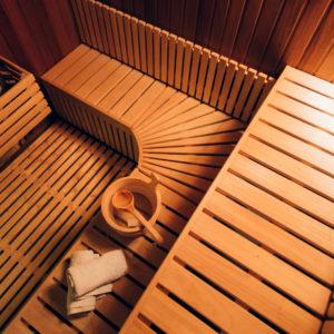 wyposażenie sauny