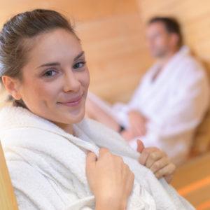 pomieszczenia z sauna