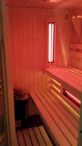 domowa sauna, kabiny do saun