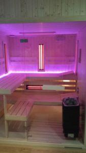 sauna nowoczesna fińska
